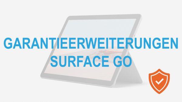 Garantieerweiterung Surface Go
