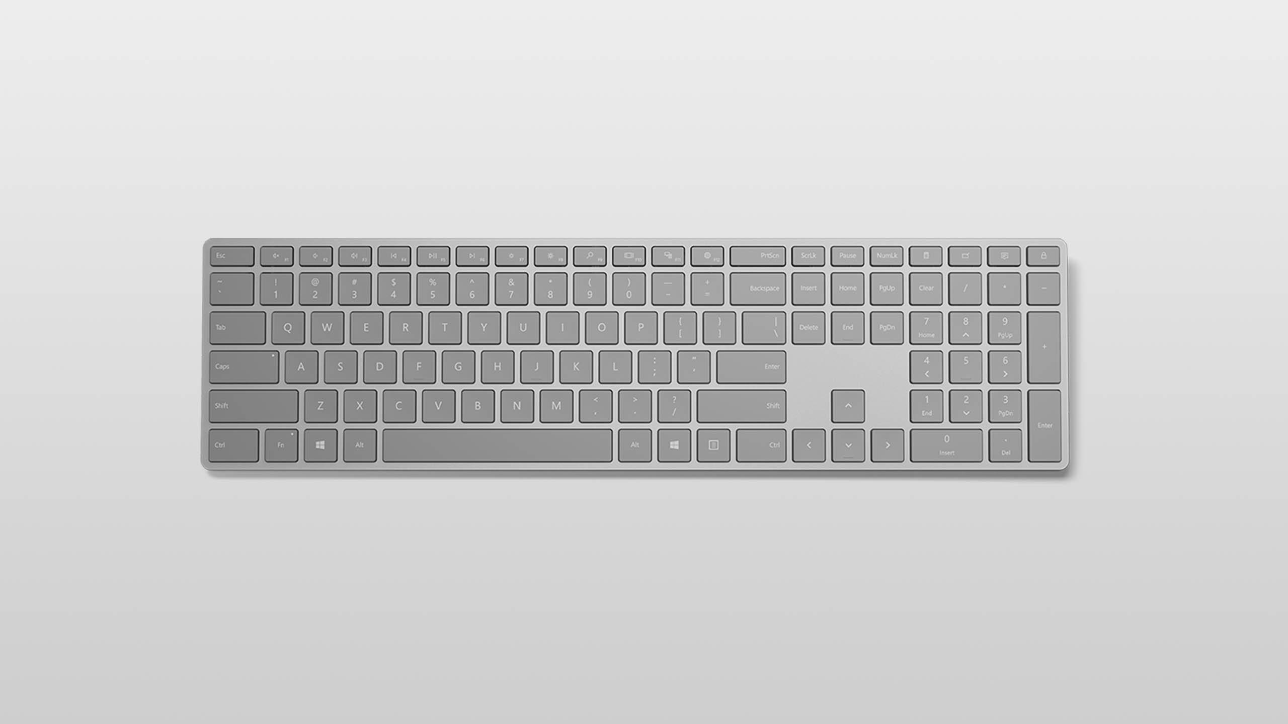 Surface Keyboard Platingrau