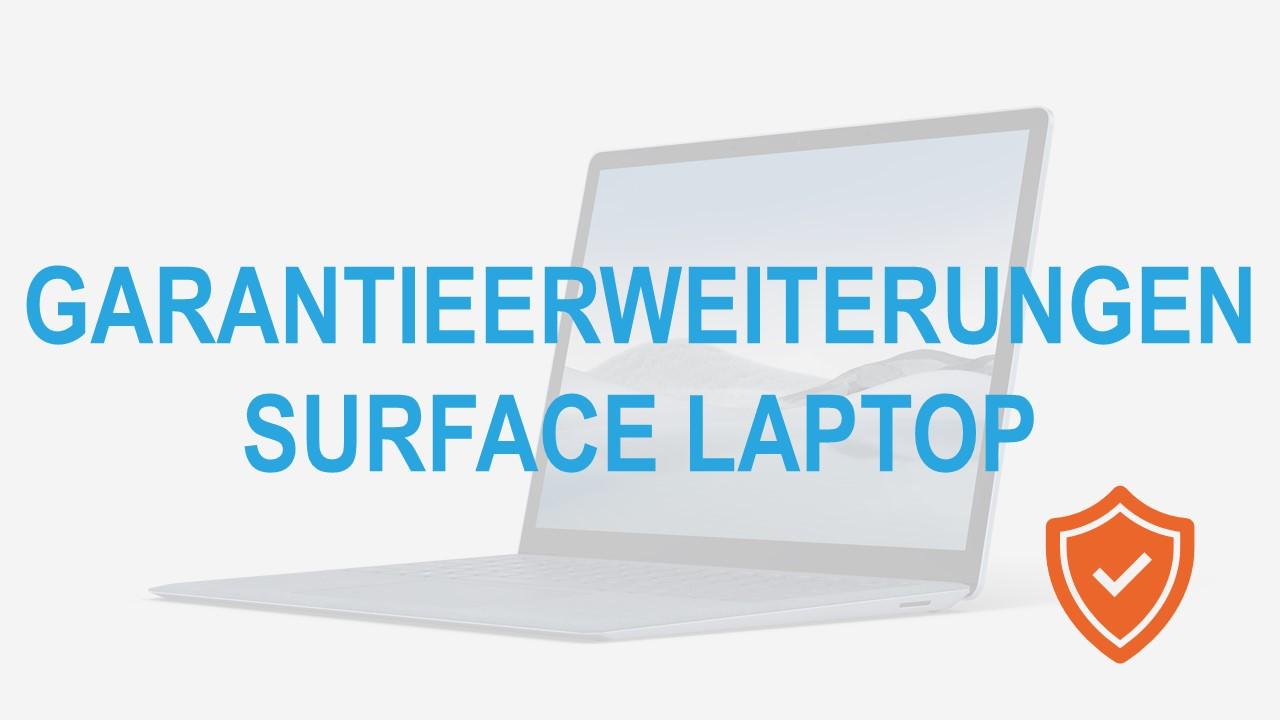 Surface for Business Laptop Garantieerweiterungen