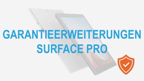 Garantieerweiterung Surface Pro