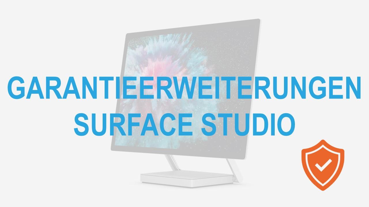 Surface for Business Studio Garantieerweiterungen