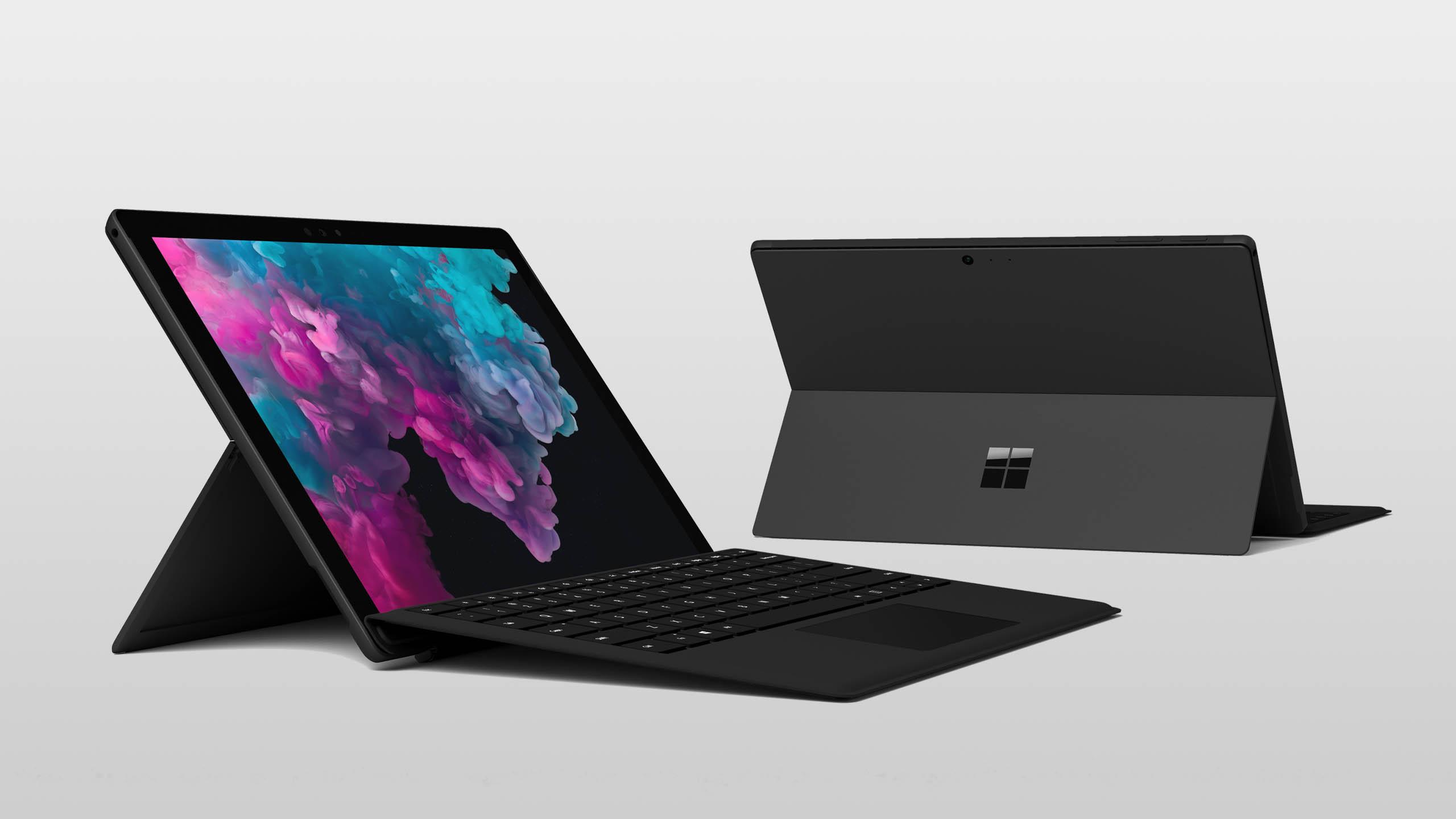 Surface Pro 6 schwarz