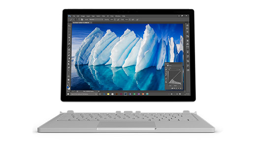 Surface Book 2 im Tablet Modus