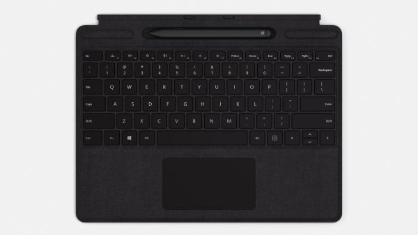 Surface Pro X Signature Keyboard Inkl. Slim Pen Und Slim Pen Fach