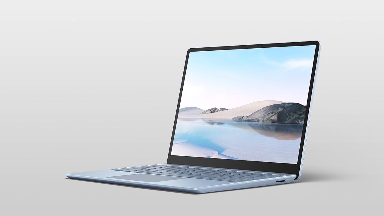 Surface Laptop Go for Business Eisblau