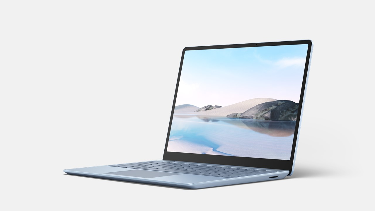 Surface Laptop Go for Business Eisblau Frontal