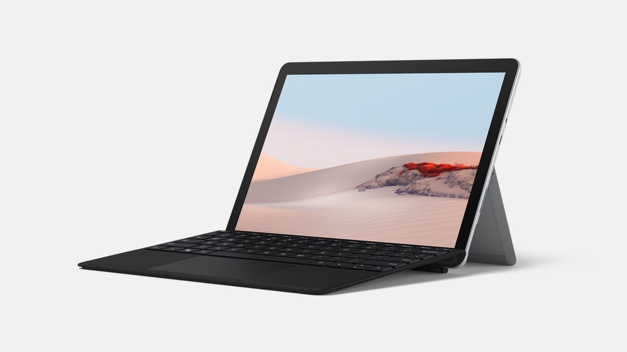 Surface Go 2 for Business Promo: Go 2 und Tastatur Type Cover Black im Angebot