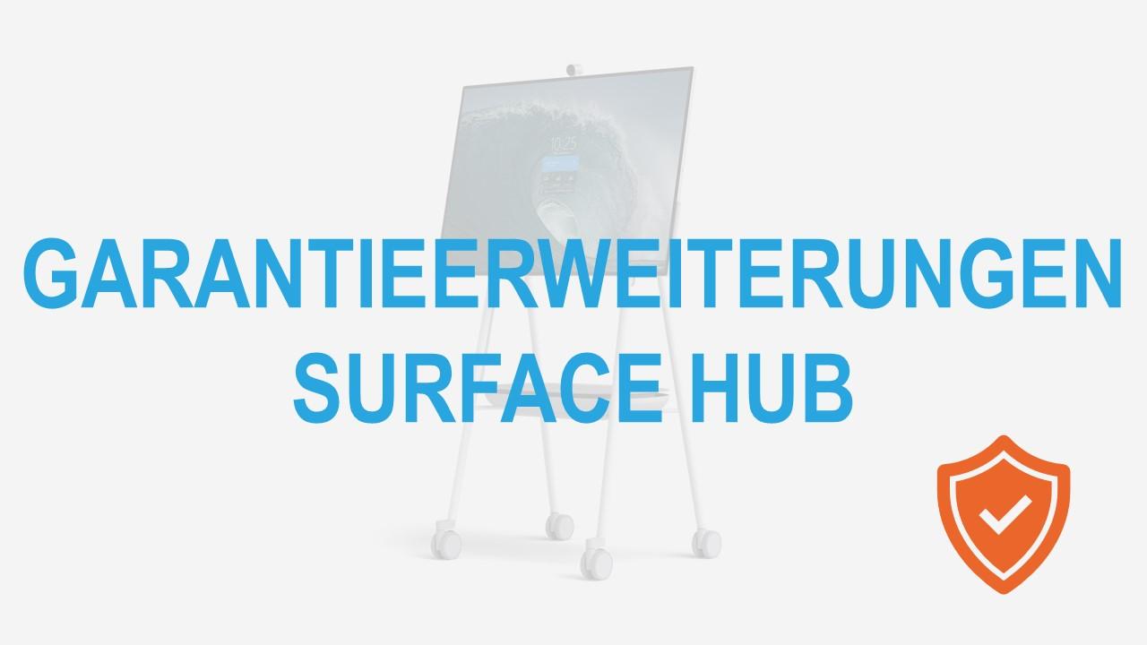 Surface for Business Hub Garantieerweiterungen