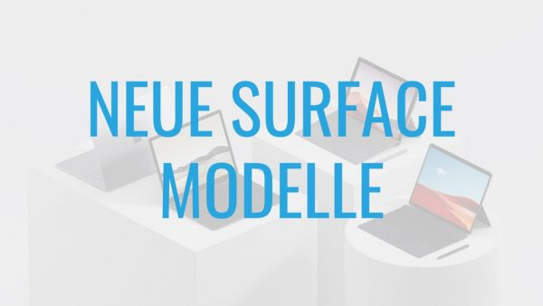 Microsoft Surface For Business Neue Modelle
