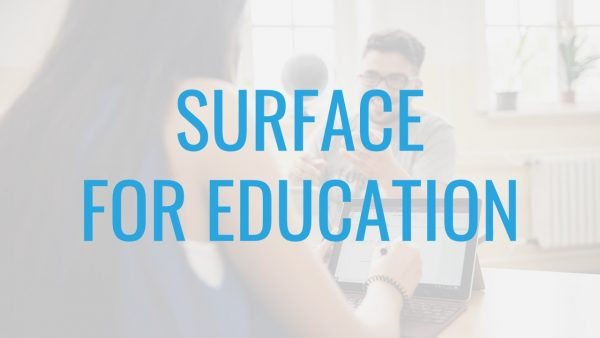 Microsoft Surface For Education