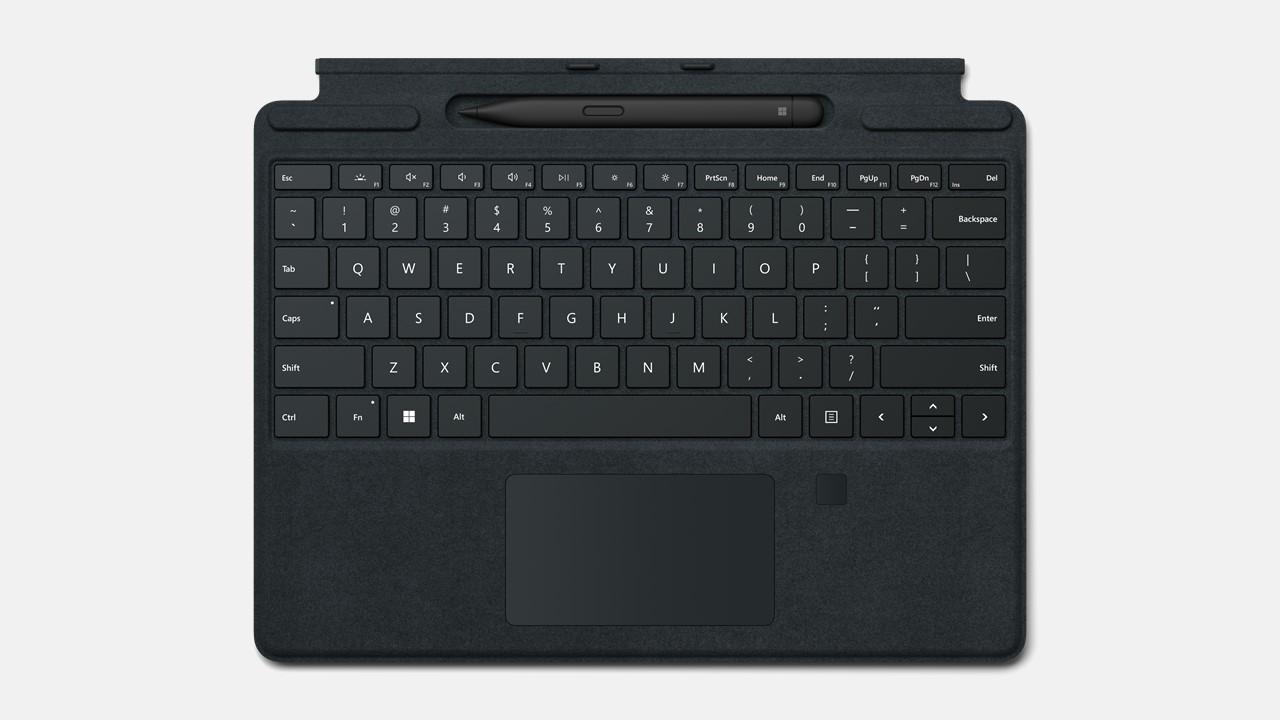 Microsoft Surface Pro Signature Keyboard mit Fingerprint-ID