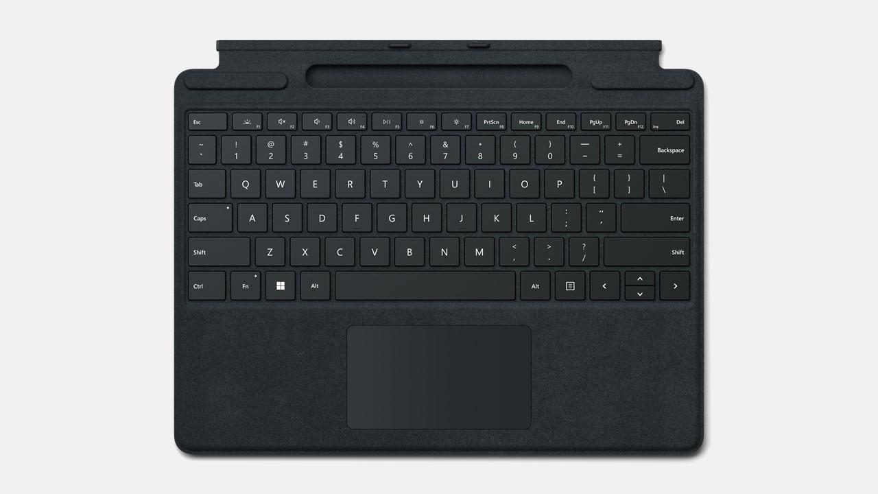 Microsoft Surface Pro Signature Keyboard ohne Pen Schwarz
