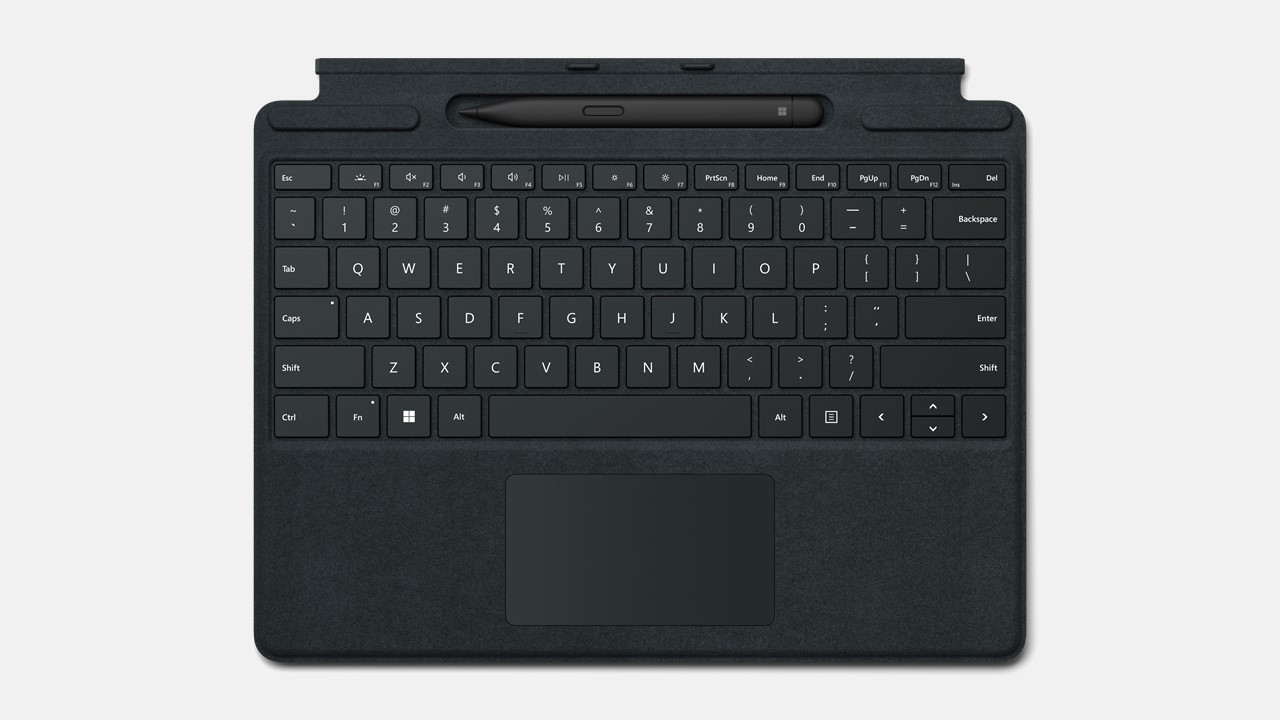 Microsoft Surface Pro Signature Keyboard for Business mit Slim Pen 2